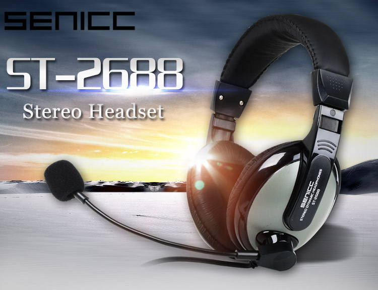 computer headset with microphone